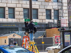 Set Work (jphenney) Tags: movie downtown cleveland filmproduction sportscars movieprops fastfurious fastandfurious8