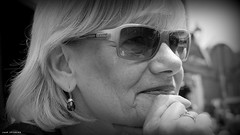 Marjan (jaap spiering | photographer) Tags: portrait people blackandwhite bw monochrome noiretblanc zwartwit denhaag nb mens portret thehague mensen 070 denneweg jaapspiering jaapspieringphotographer jaapspieringfotografie
