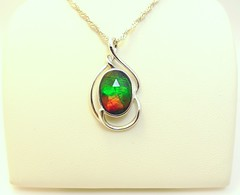 KORITE ITEM (The Ammolite) Tags: fossil ammonite ammolite gemstone pendant jewellery jewelry korite