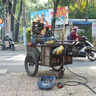 Motorcycle Repair - Ho Chi Minh City, Vietnam