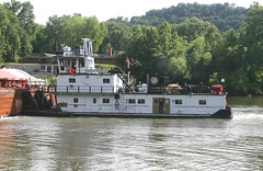 LAWSON W HAMILTON JR, in Kanawha River, Charleston, West Virginia, USA. June, 2016 (Tom Turner - SeaTeamImages / AirTeamImages) Tags: usa river unitedstates transport vessel spot charleston madison westvirginia transportation tugboat tug amherst tow spotting towboat pusher kanawha almostheaven tomturner pushertug kanawhariver wildwonderful lawsonwhamitlonjr