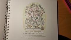 Work In Progress Ganesha (dorofofoto) Tags: ganesha wip hindu hinduism ganapati coloringbook colorpencils colourpencils fabercastell polychromos theshakticoloringbook ekabhumicharlesellik