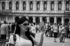 Venice Selfie (LevanteCH) Tags: tamron16300 biancoenero blackwhite candid candidportraits d7100 streetphoto goingcandid feet legs relax citylife adorable people wedding candidportraiit streetphotography monocrome