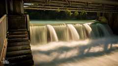 Loud Flow (Ukelens) Tags: longexposure sunset summer sun flow schweiz switzerland waterfall stream sonnenuntergang suisse wasserfall swiss sommer waterfalls waters bern svizzera sonne sunbeam sonnenstrahl sonnenschein langzeitbelichtung wasserflle berncity ukelens
