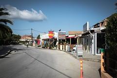 Taking it Easy (Number Johnny 5) Tags: street signs nikon greece d750 tamron corfu mundane banal sidari 2016 2470mm