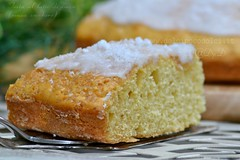 Torta al latte di cocco senza zucchero (Roberta Giovagnoli) Tags: torta colazione cocco