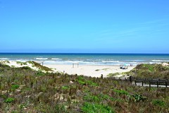 Texas, Kleberg County, Padre Island National Seashore, Malaquite Beach (EC Leatherberry) Tags: beach gulfofmexico texas nationalparkservice padreislandnationalseashore malaquitebeach klebergcounty