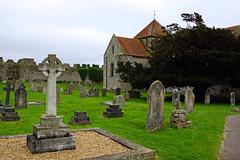 St Mary's church & graveyard, Portchester (Andrey Sulitskiy) Tags: uk england portchester hampshire