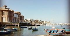 Bari mare e sole (romina_Dargenio) Tags: portrait italy mare porto sole lungomare puglia bari apulia