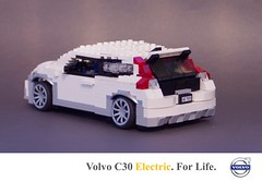Volvo C30 DRIVe Electric (lego911) Tags: auto birthday ford car electric drive volvo model lego bev sweden platform battery swedish vehicle hatch 7th coupe challenge 47 alternative lugnuts hatchback 84 c1 moc alternativefuels 2011 miniland fuels c30 3door lego911 lugnutsturns7or49indogyears