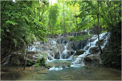 Palenque Waterfalls, Chiapas, MX (kcezary) Tags: travel tourism canon landscape mexico outdoors waterfall holidays places paisaje falls palenque polarizer paysage picturesque landschaft chiapas circularpolarizer     canonef1635mmf4lisusm canon5dmkii exploremexico mylensdb