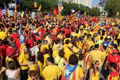11 de Setembre de 2014. (georgecat_1714) Tags: barcelona canon catalunya 1635 independncia celebraci 5dmkiii