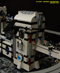 22_Entry_to_space_station (LegoMathijs) Tags: expedition wire energy power lego crystal space el vehicles technic modular planet scifi 20 monorail functions mindstorms containers miners moc units nxt ores legomathijs oswion