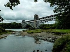 Britannia Bridge (Eeee Bi Gum) Tags: wales unitedkingdom menaistrait isleofanglesey britanniabridge llanfairpwllgwyngyll