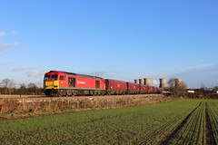 60020 Willington 121214 (8lda28) Tags: train rail brush class british tug coal 60 60020