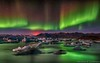 Greetings From Iceland (Kristinn R.) Tags: sky mountains ice stars iceland nikon lagoon glacier northernlights auroraborealis jökulsárlón vatnajökull breiðamerkurjökull nikonphotography breiðamerkursandur kristinnr d800e vatnajökullsþjógarður