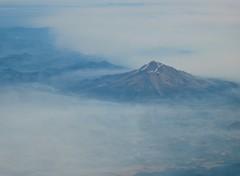Mt Shasta and smokey skies (gardenchien) Tags: california mountain smoke drought mtshasta wildfire smokeyskies