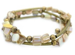 5th Avenue White Bracelet P9409-4