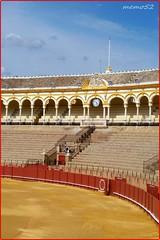 Sevilla (Espana) Plaza de toros (memo52foto) Tags: sevilla spain europa europe eu seville arena espana espagne séville spanien bullring spagna ue arène iberia plazadetoros siviglia espanya placadetoros penisolaiberica espanien stierkamfarena