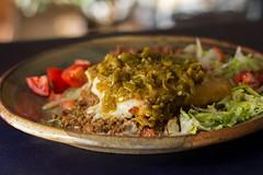 Stuffed Sopapilla (mjskitchen) Tags: newmexico sopapilla greenchile