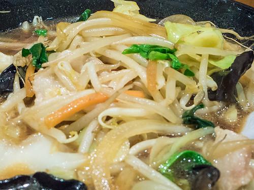 野菜ラーメン醤油