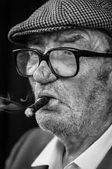 The cigar man (Giulio Magnifico) Tags: portrait cigar smoker udine nikond800e nikkormicro105mmafsvrf28