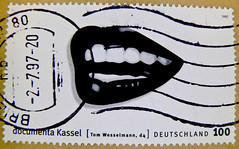 great stamp Germany 100pf (d4 - painting by Tom Wesselmann) timbres Allemagne sellos Alemanha selos Alemania francobolli Germany postzegel 우표 독일 유럽  γραμματόσημα Γερμανία frimerker Tyskland markica Njemačka pullari Almanya スタンプ  ドイツの ヨーロッパ postzegels 100 (stampolina, thx for sending stamps! :)) Tags: mouth postes germany deutschland mail stamps teeth lips porto bouche alemania tyskland allemagne postage postzegel franco dents alemanha mund zähne duitsland kassel documenta levres sellos lippen briefmarken markas pulu ヨーロッパ selos timbres almanya njemačka francobolli postzegels timbresposte znaczki markica スタンプ рот frimerker pulları timbru γερμανία ドイツの pullari γραμματόσημα postapulu postestimbres postetimbres antspaudai znamk гу́бы