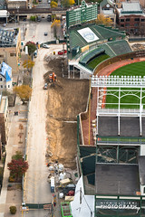 (11.10.14)-November Aerials-16 (ChiPhotoGuy) Tags: urban chicago skyline architecture buildings fly high cityscape baseball altitude aerial helicopter lookdown cubs wrigleyfield wrigley aerialphotography chicagocubs reconstruction density baseballstadium chitecture enjoyillinois cityporn rotorzen mychicagopix wrigleyreconstruction birdseyeviewcity nuwrigleyreno