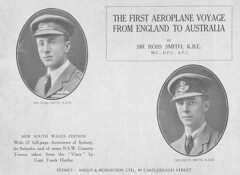 The Crew - The First Aeroplane Voyage from England to Australia  -  by Sir Ross Smith 1920 (AndyBrii) Tags: 1919 1920 keithsmith rosssmith vickersvimy frankhurley englandtoaustralia firstaeroplanevoyager