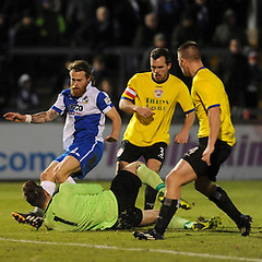 """Bristol Rovers v Bath City 131214 • <a style=""""font-size:0.8em;"""" href=""""http://www.flickr.com/photos/125622569@N04/15833871669/"""" target=""""_blank"""">View on Flickr</a>"""