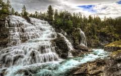 Norwegian waterfall II (jimmy Johansen) Tags: norway norge waterfall wasserfall norwegen foss mreogromsdal