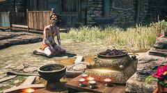 Sadhu (gamingink) Tags: travel flowers game xbox360 video shrine candles prayer religion pray xbox games tourist videogames gamer videogame tradition playstation sadhu holyman ps3 ps4 gamephotography kyrat xboxone farcry4