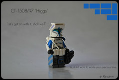 Sergeant Higgs ([LegionDude] ಠ_ಠ) Tags: trooper star lego awesome badass bricks arc battle troopers rpg clones wars minifigs clone higgs minifigures bricklink brickarms brickforge capemadness cl0enz
