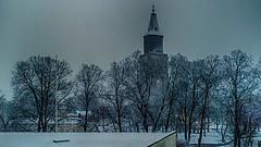 13.12.2014   Lauantaiaamu. Lumisade  Saturdaymorning. Snowfall   Turku bo Finland (rkp11) Tags: morning schnee winter snow suomi finland vinter december turku hiver nieve nevada saturday christmastree steeple christmaslights neve invierno neige dezember snowfall lumi inverno talvi zima dicembre  sn hdr diciembre dcembre nieg nevicata joulukuusi 2014 bo 12 schneefall   turuntuomiokirkko  aamu  jouluvalot joulukuu  grudzie turkucathedral lauantai    12 snfall  chutedeneige   southwestfinland  hdrefexpro2 lightroom5 opadyniegu 13122014 limisade