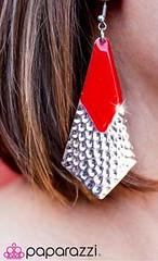 Sunset Sightings Red Earrings K1 P5920-3