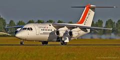 EI-RJW / British Aerospace 146 Avro RJ85 (rudyvandeleemput) Tags: ireland holland airport aviation international civil british bae schiphol ams aerospace avro 146 eham rj85 cityjet eirjw