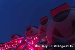 Las Vegas, the highroller (garylestrangephotography) Tags: pink light vacation usa holiday colour feet wheel observation high view lasvegas nevada roadtrip deck gondola tall viewpoint sincity tallest 550 highroller garylestrangephotography