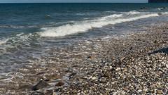 Sea & Stones (GIgaYork) Tags: sea waves stones yorkshire east sands reighton