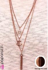 5th Avenue Copper Necklace K1 P2445-2