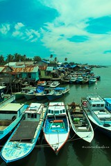another fishing village (nisanisarah) Tags: balikpapan manggar kampungnelayan