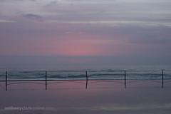 Cronulla Sunrise 10 January 2015 (9 of 10) (Anthony Clark) Tags: morning pink light red orange seascape color colour beach water clouds sunrise colorful purple sydney australia colourful shire aussie cloudporn cronulla cronullabeach