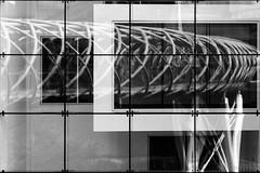 Open your eyes and listen (OR_U) Tags: uk blackandwhite bw abstract reflection window glass wall scotland blackwhite edinburgh 12 framework oru schwarzweiss flyover 2015