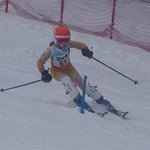 Hemlock's Sydney Kardoes - U12 Teck slalom PHOTO CREDIT: Jenn Voss