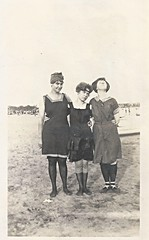 Vintage, Swimming Suits, Bathing, Stockings, 1910s, Hat, Fashion (photolibrarian) Tags: stockings hat fashion vintage bathing 1910s swimmingsuits