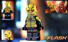 LEGO CW : The Reverse Flash (MGF Customs/Reviews) Tags: cold harrison lego zoom grant flash wells suit captain figure cw reverse professor custom heatwave minifigure the gustin thawne
