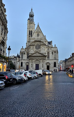 Parigi_167T (Dubliner_900) Tags: tamron1750mm28 parigi paris bluehour church chiesa d7000 nikon nightshot handheld