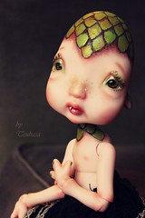 """Draki"" Dragon egg (Tsubasa Make up doll) Tags: make up dolls dragon egg bjd humpty dumpty fc ck tsubasaparadis"