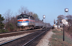 NW0099 (ex127so) Tags: nw amtrak va 1976 burkeville e9a