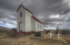 'Red roof' (Timster1973 - thanks for the 10 million views!) Tags: trip travel sky color colour church beautiful clouds canon landscape religious outdoors landscapes tim iceland cross outdoor religion chapel land exploration external icelandic timknifton timster1973 knifton