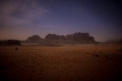 Desert Spine (Themightyoak) Tags: sky mountains night clouds canon stars desert 14 jordan rum 24mm must wadi 6d seaming